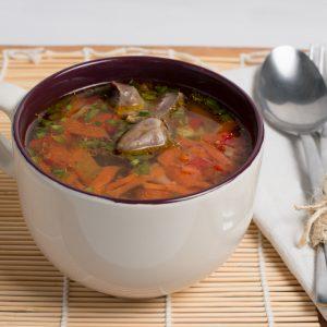 Fotografie alimentara, Ciorba de pui cu legume