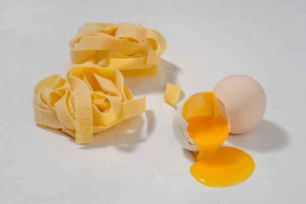 Fotografie alimentara, paste cu oua