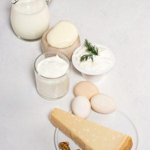 Fotografie alimentara, produse lactate si oua